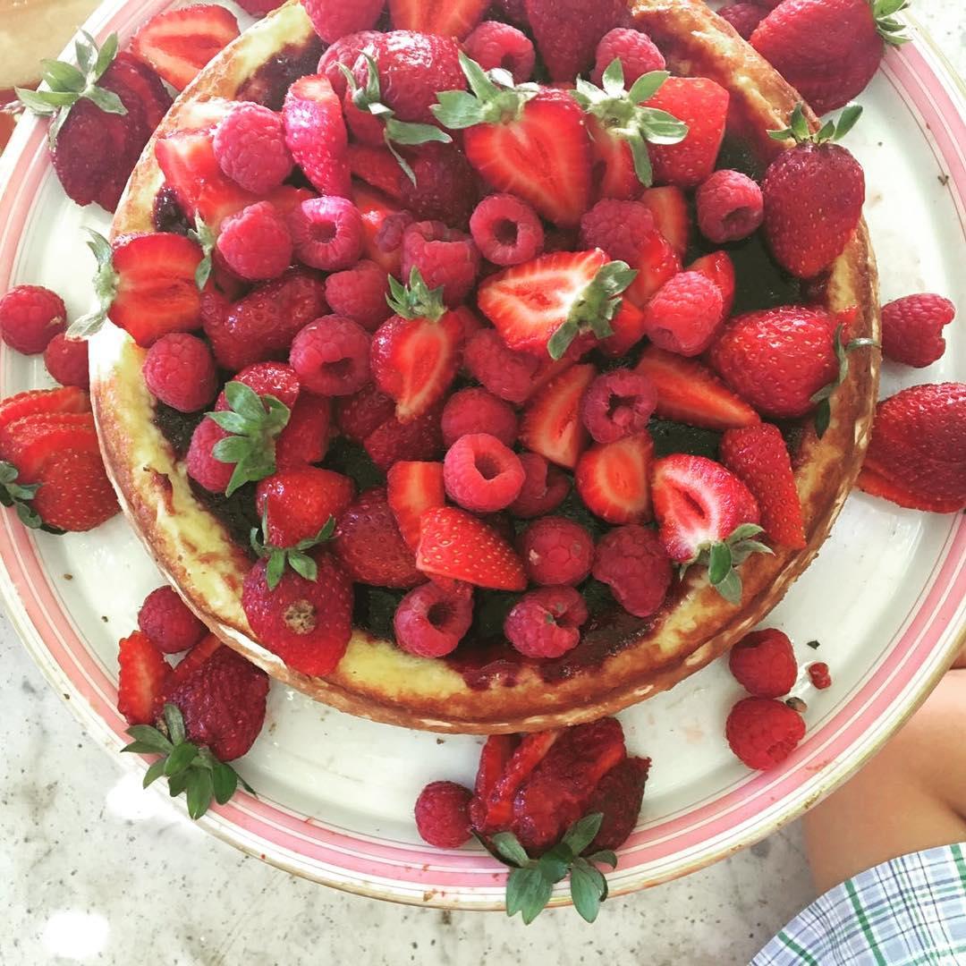 Pastel de frutas Claradou