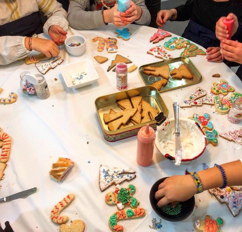 Talleres de decoración de galletas con Claradou